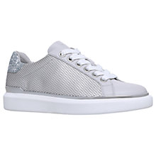 Buy MICHAEL Michael Kors Max Lace Up Trainers, Metallic Online at johnlewis.com