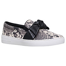 Buy MICHAEL Michael Kors Willa Slip On Trainers Online at johnlewis.com