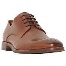 Buy Dune Placebo Gibson Shoes, Tan Online at johnlewis.com