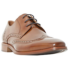 Buy Dune Pembrook Derby Lace-Up Leather Brogue Shoes Online at johnlewis.com