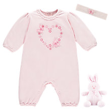 Buy Emile et Rose Marnie All-in-One with Headband Two Piece Set, Pink Online at johnlewis.com