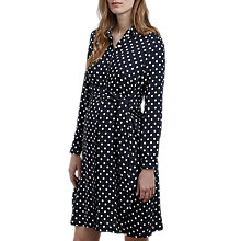Buy Isabella Oliver Elisha Maternity Shirt Dress, Black/White Online at johnlewis.com