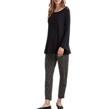 Buy Isabella Oliver Dani Tapered Maternity Trousers, Blue Online at johnlewis.com