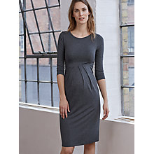 Buy Isabella Oliver Ivybridge Maternity Dress, Grey Online at johnlewis.com