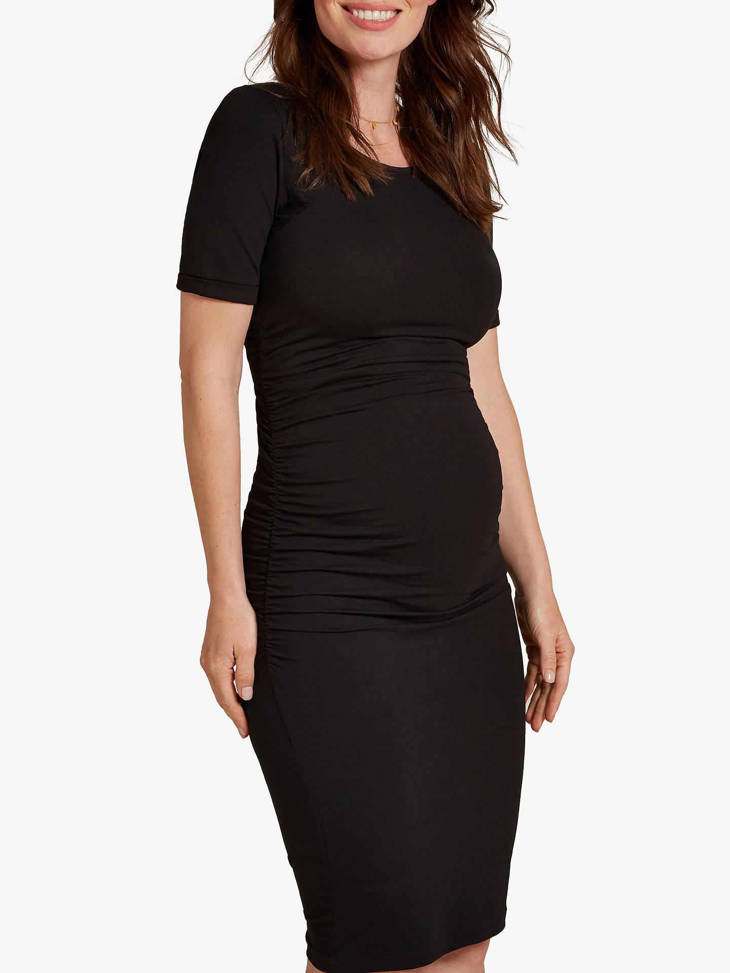 Ruched T-Shirt Dress
