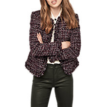 Buy Gerard Darel Olympia Tweed Jacket, Red Online at johnlewis.com