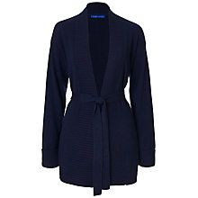 Buy Winser London Audrey Cashmere Cardigan, Navy Online at johnlewis.com