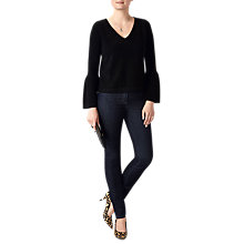 Buy Pure Collection Flute Sleeve Cashmere Sweater Online at johnlewis.com