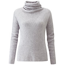 Buy Pure Collection Drape Neck Gassato Jumper Online at johnlewis.com