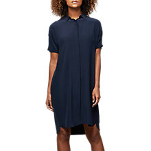 Buy East Silk Combination Dress, Ink Online at johnlewis.com