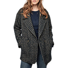 Buy Gerard Darel Gael Coat, Blue Online at johnlewis.com