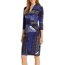 Buy Phase Eight Ginny Hexagon Print Dress, Multi Online at johnlewis.com
