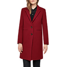 Buy Gerard Darel Galeria Coat, Red Online at johnlewis.com
