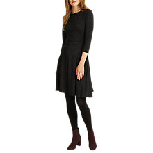 Buy Phase Eight Rosa Ribbed Swing Dress, Pine Online at johnlewis.com