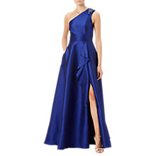 Buy Adrianna Papell Faille Drape Gown Online at johnlewis.com