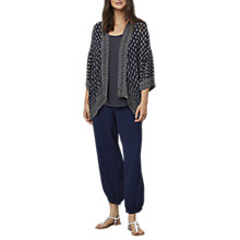 Buy East Jamila Print Kimono, Ink Online at johnlewis.com
