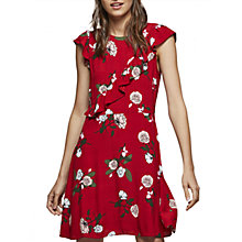 Buy Miss Selfridge Rose Print Dress, Multi Online at johnlewis.com