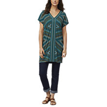 Buy East Savannah Tunic Dress, Multi Online at johnlewis.com