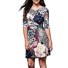 Buy Yumi Floral Jersey Dress, Mixed Online at johnlewis.com