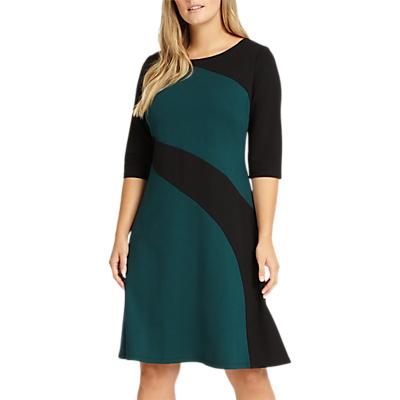 Studio 8 Alicia Dress, Green/Black
