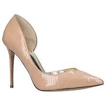 Buy Carvela Apple Cut Out Stiletto Heeled Court Shoes Online at johnlewis.com