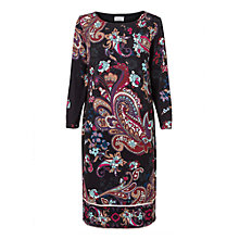 Buy East Paisley Print Shift Dress, Multi Online at johnlewis.com