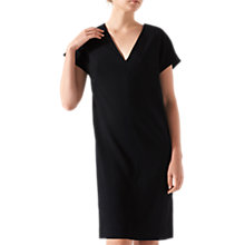 Buy Jigsaw Constance Dress, Black Online at johnlewis.com
