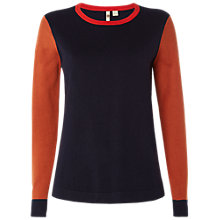Buy White Stuff Leafy Avenue Jumper, Multi/Navy Online at johnlewis.com