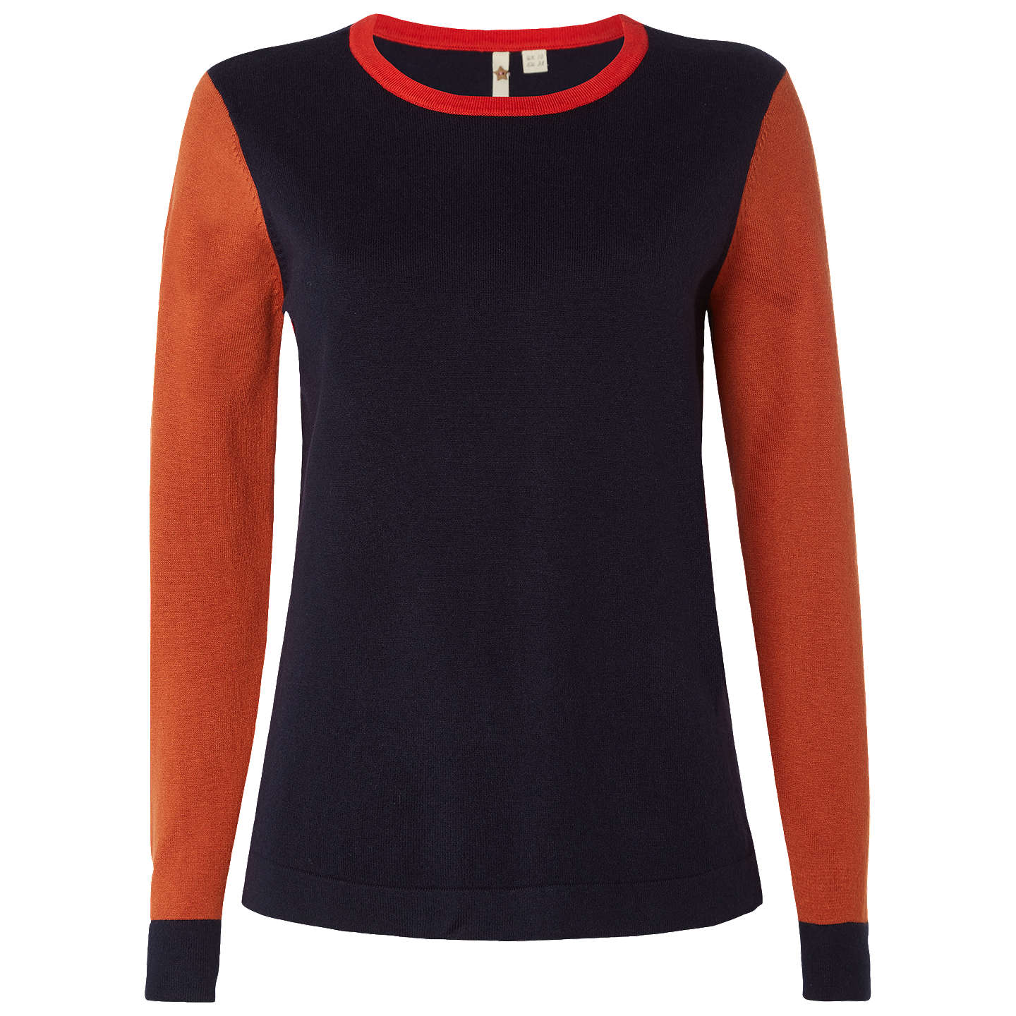 BuyWhite Stuff Leafy Avenue Jumper, Multi/Navy, 6 Online at johnlewis.com