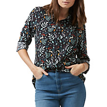 Buy Sugarhill Boutique Erin Enchanted Woodland Shirt, Black/Multi Online at johnlewis.com