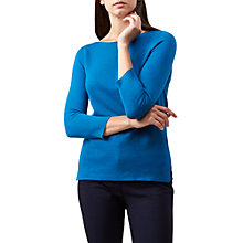 Buy Hobbs Cesci Jumper, Cerulean Blue Online at johnlewis.com