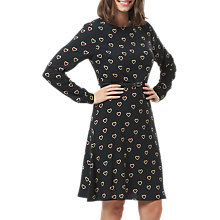 Buy Sugarhill Boutique Darcy Rainbow Hearts Dress, Black/Multi Online at johnlewis.com