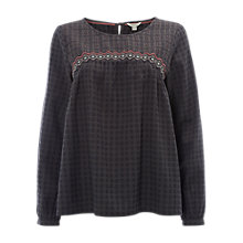 Buy White Stuff Textured Ivor Top, Multicolour Online at johnlewis.com