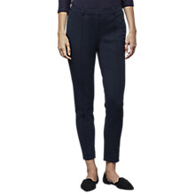 Buy East Ponte Trousers, Navy Online at johnlewis.com