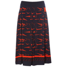 Buy White Stuff Pencil And Pen Pleated Skirt, Multi Online at johnlewis.com