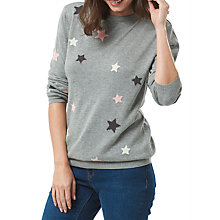 Buy Sugarhill Boutique Scattered Stars Jumper, Grey Online at johnlewis.com