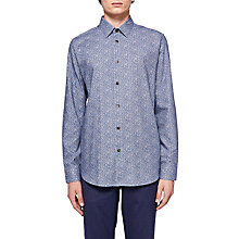Buy Ted Baker Montpel Shirt, Navy Blue Online at johnlewis.com