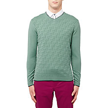 Buy Ted Baker Golf Armstro Knit Jumper Online at johnlewis.com
