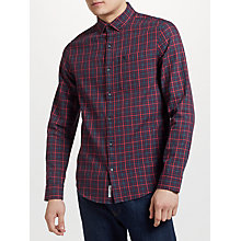 Buy Original Penguin Gingham Check Shirt, Multi Online at johnlewis.com