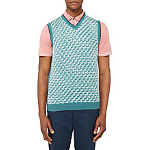 Buy Ted Baker Golf Tommas Knit Tank Top Online at johnlewis.com