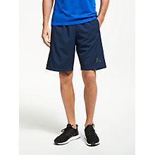 Buy adidas D2M Woven Training Shorts, Navy Online at johnlewis.com