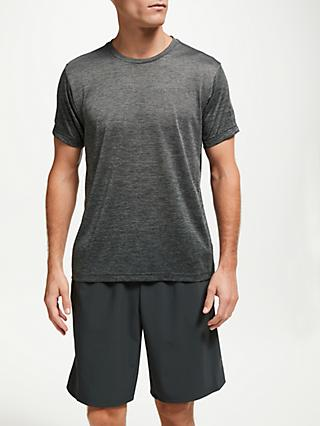 adidas FreeLift Short Sleeve Training T-Shirt, Grey