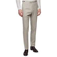 Buy Reiss Paulo Slim Fit Suit Trousers, Stone Online at johnlewis.com