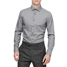 Buy Reiss St Louis Shirt, Black/White Online at johnlewis.com