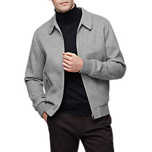 Buy Reiss Foxbury Jacket, Grey Online at johnlewis.com