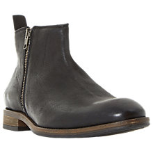 Buy Dune Coleman Ankle Boots, Black Online at johnlewis.com