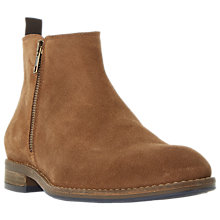 Buy Dune Coleman Ankle Boots, Tan Suede Online at johnlewis.com
