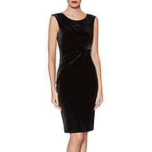 Buy Gina Bacconi Abigail Velvet Knot Dress Online at johnlewis.com