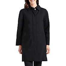 Buy Four Seasons City Three-Quarter Length Mac, Black Online at johnlewis.com