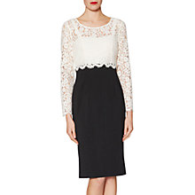 Buy Gina Bacconi Diana Lace Bodice Dress Online at johnlewis.com